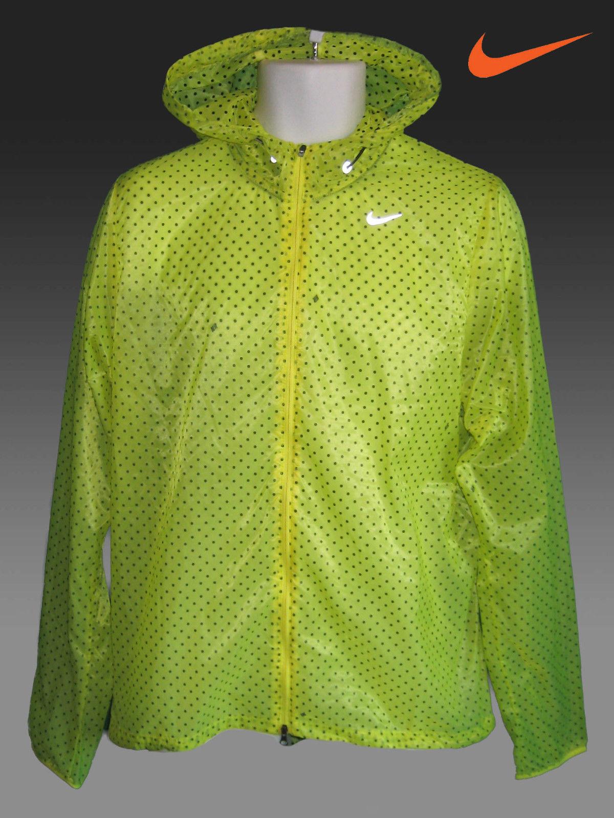 Nike running rain jacket