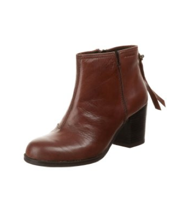 Bottines marron femme talon