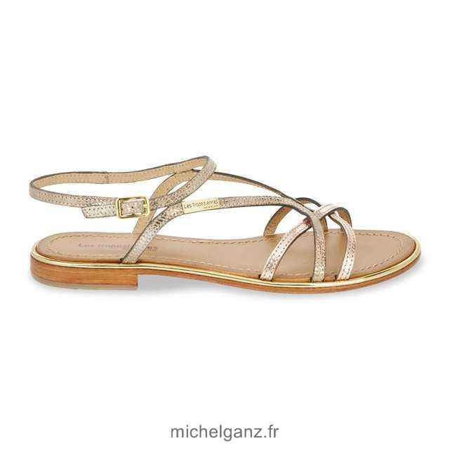 Sandale de marche cuir femme