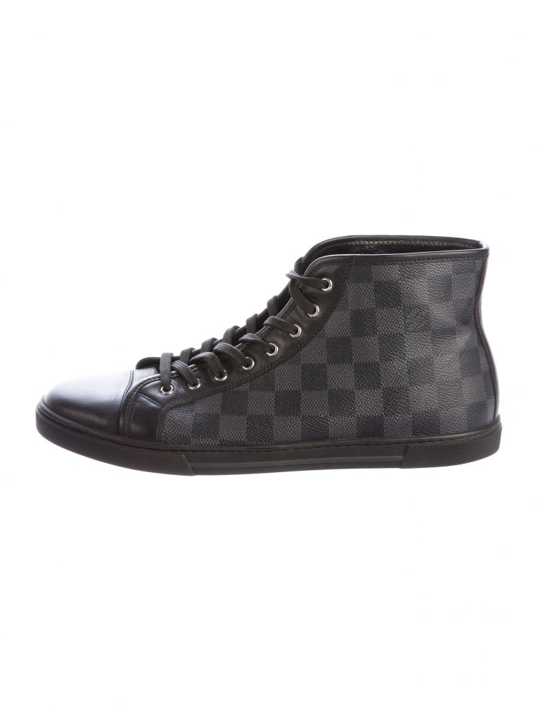 Louis vuitton damier ebene sneakers - Chaussure - lescahiersdalter 6e4ab0f54ff