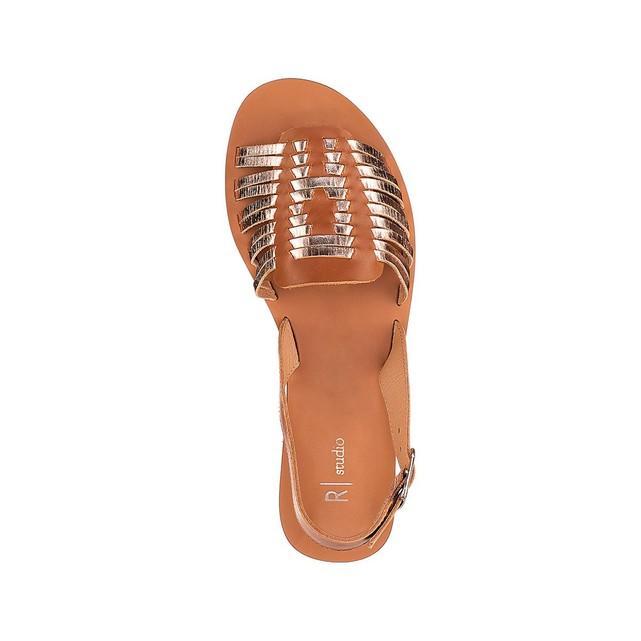 Sandales plates femme leopard