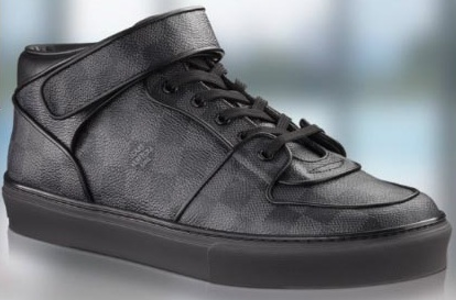 Louis vuitton graphite sneakers