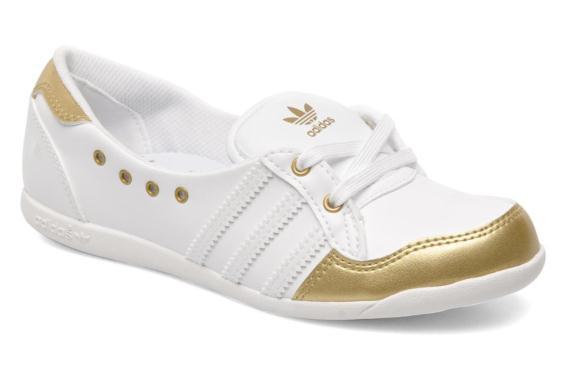Ballerine adidas blanche femme