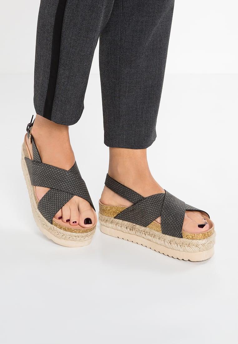 Chaussure compensée plateforme