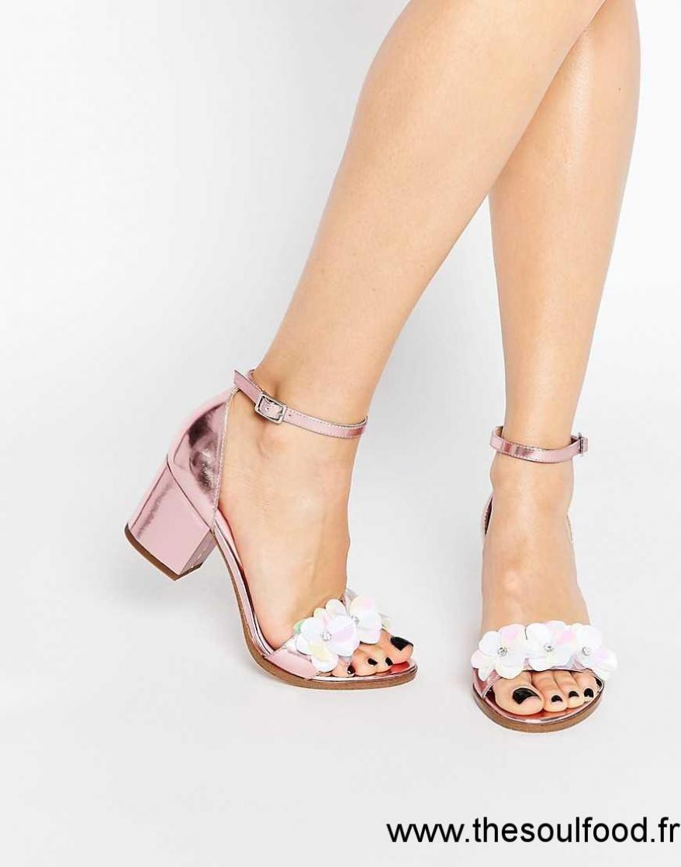 a9bf24f03ff Talon Asos Chaussure Femme Lescahiersdalter Sandale oCxerdB