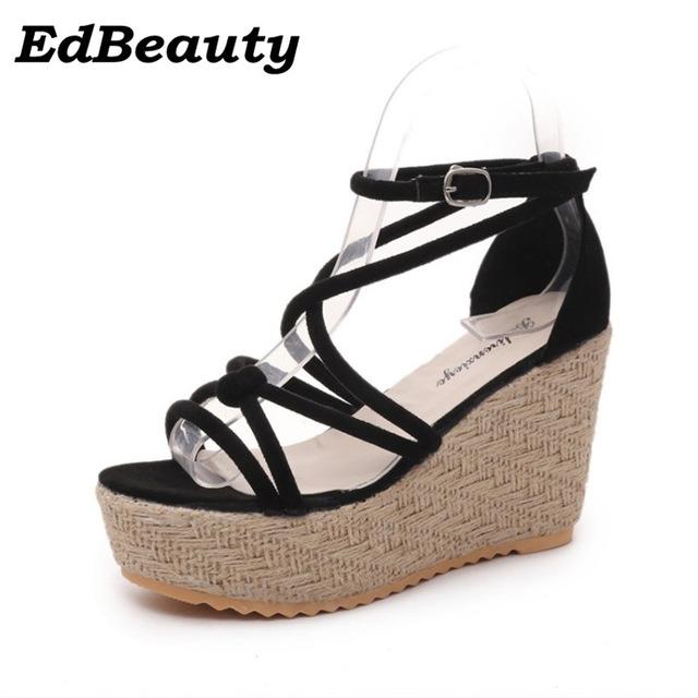 Chaussure Compensées Chaussures Femme Lescahiersdalter Corde