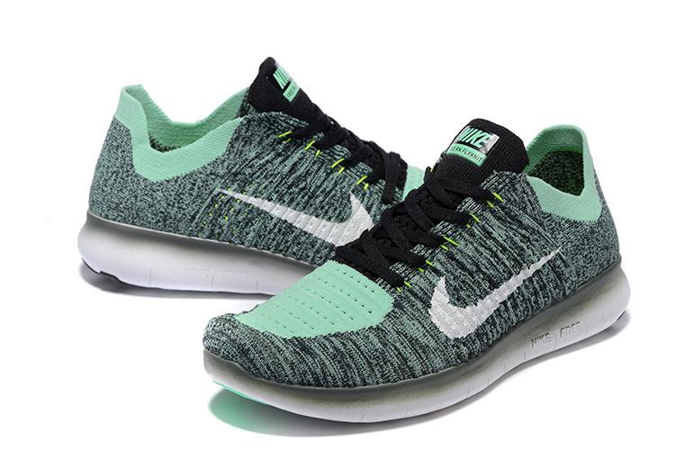 Chaussure running verte