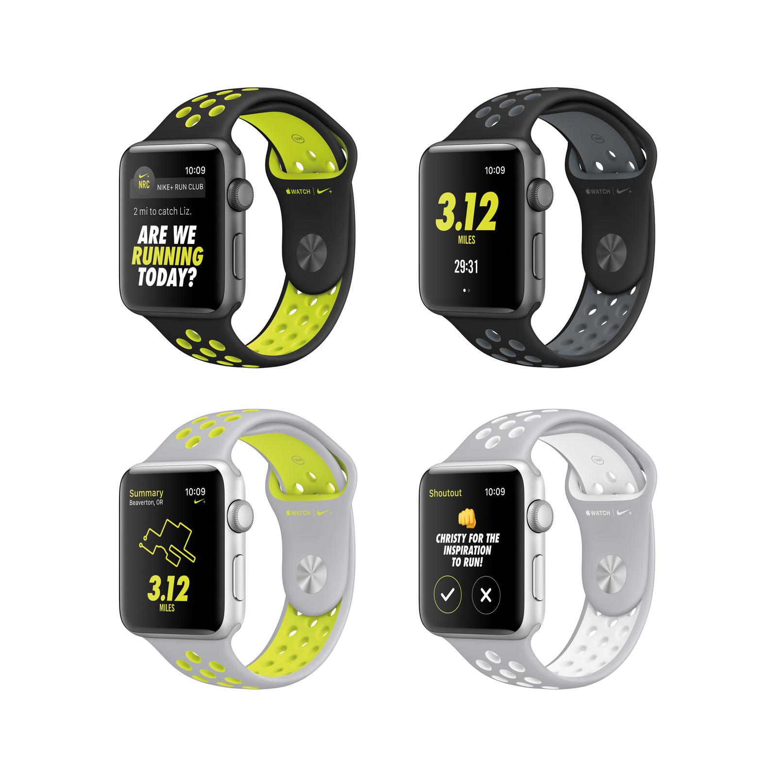 Smartwatch 3 nike running