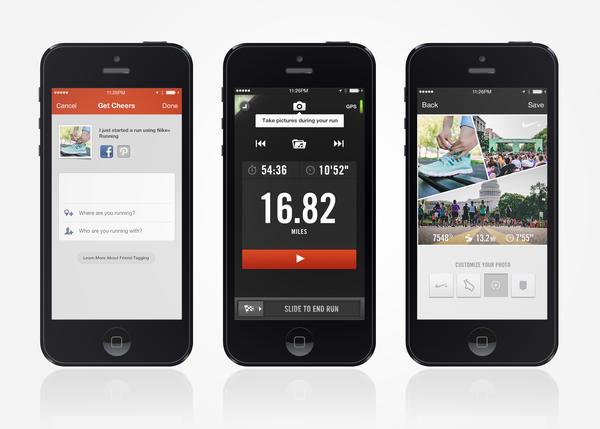 Nike running iphone