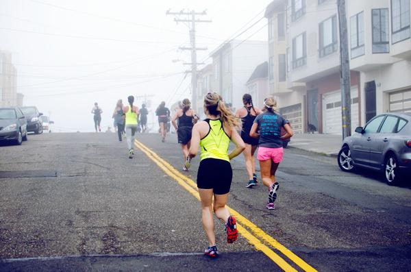 Running nike marathon