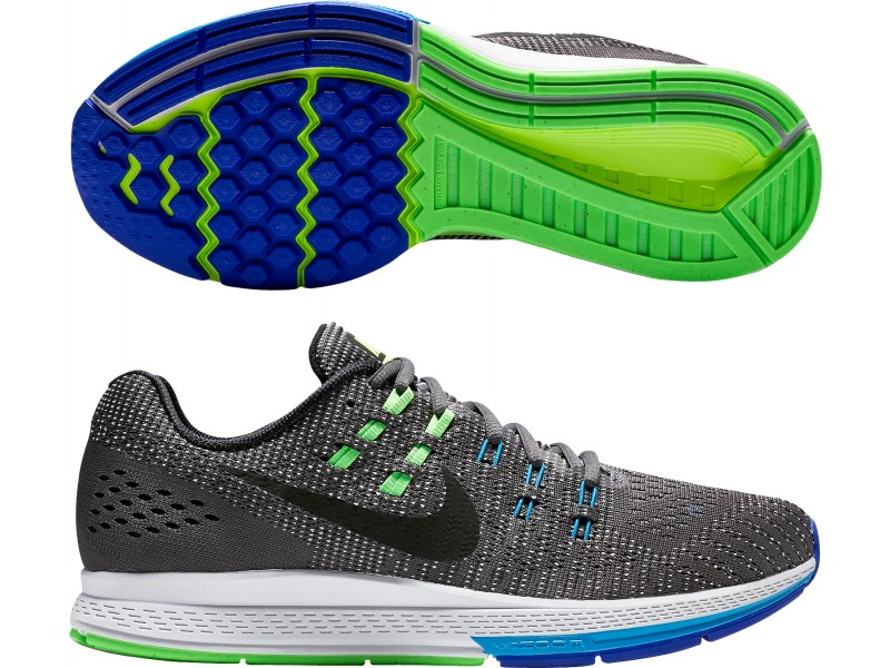 Running nike zoom structure