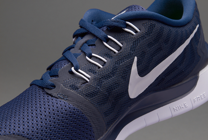 Nike free 5.0 bleu marine