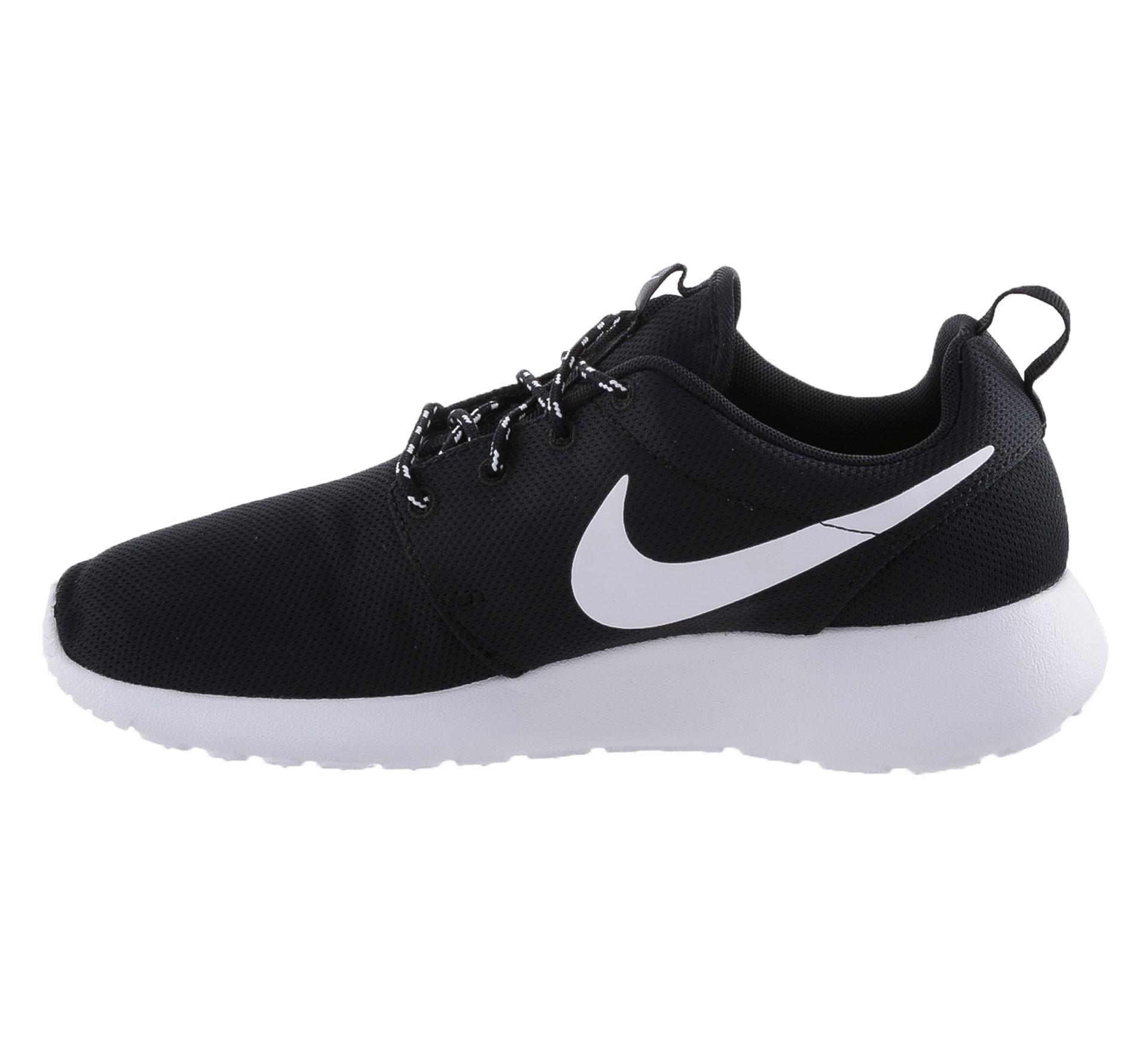 Nike sneakers zwart wit