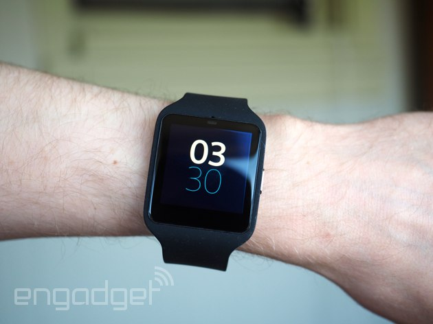 Sony smartwatch 3 nike running