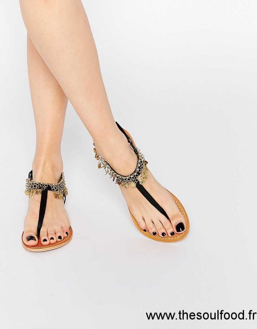 chaussures classiques qualité stable large choix de couleurs Chaussure sandale femme plate - Chaussure - lescahiersdalter
