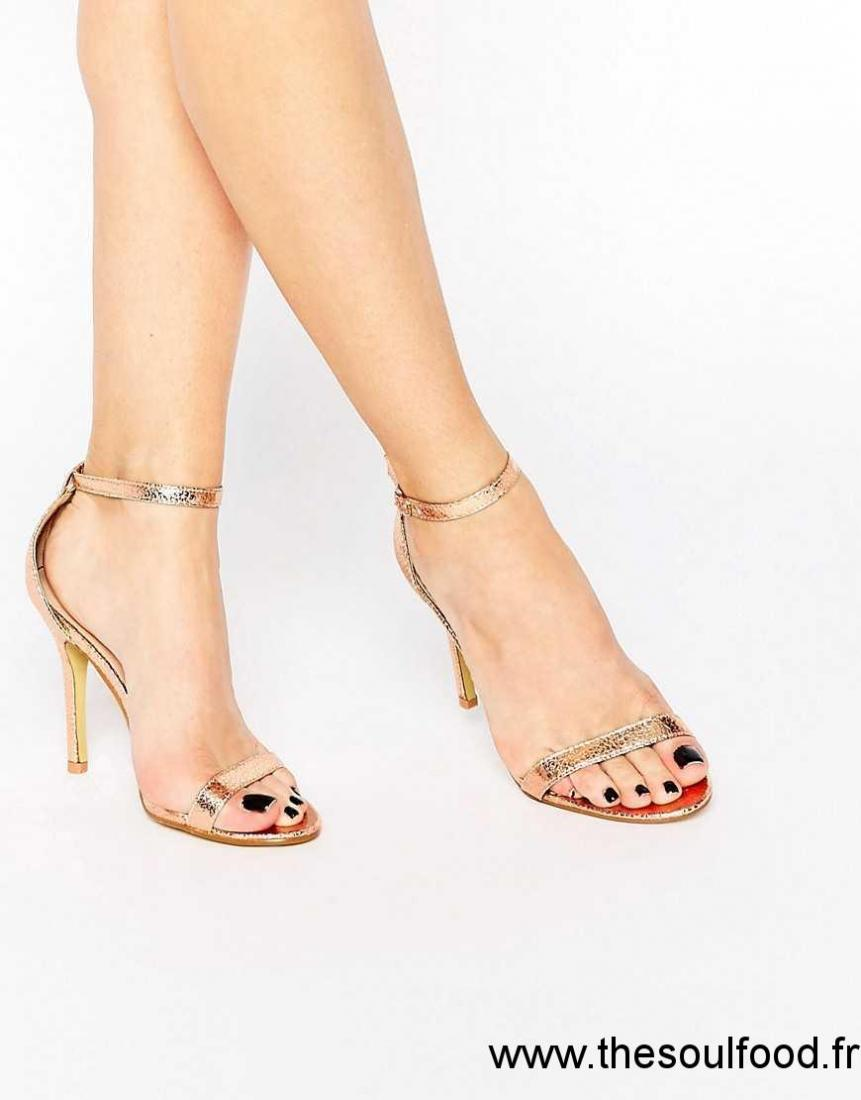 Sandale a talon femme pas cher