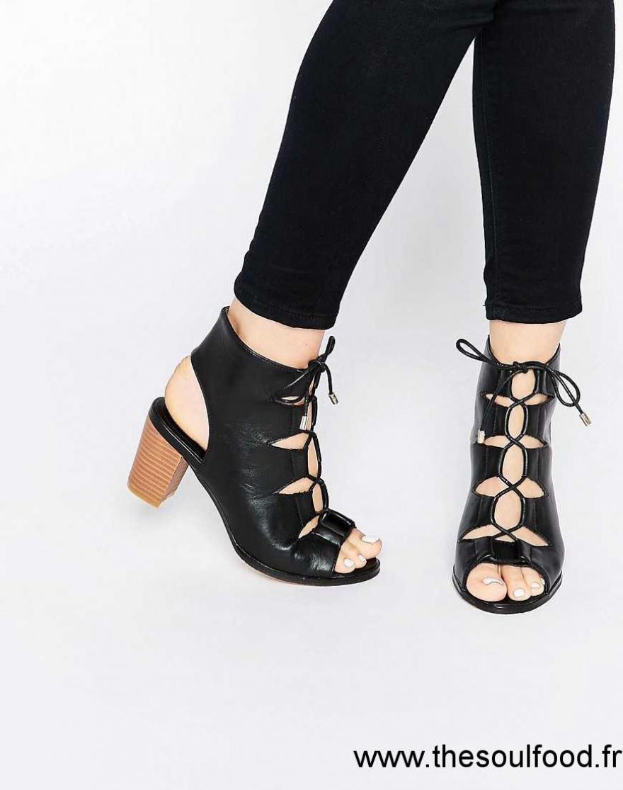 Sandale femme talon epais