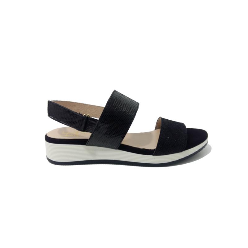 Sandale femme semelle compensée