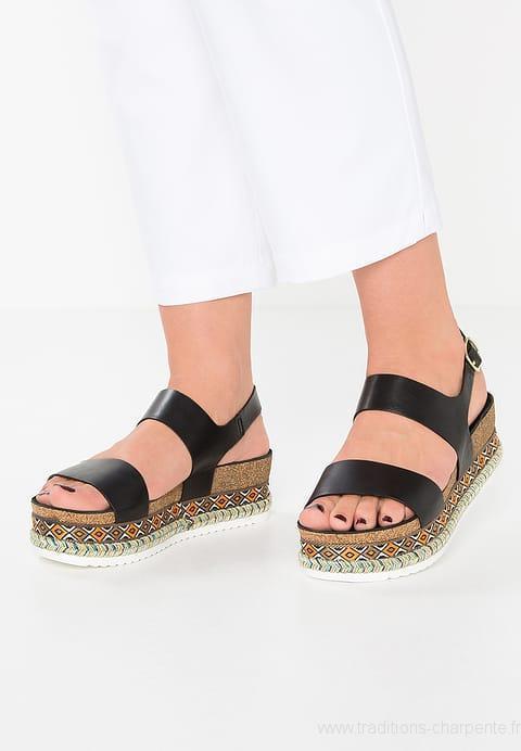 Sandale plateforme femme