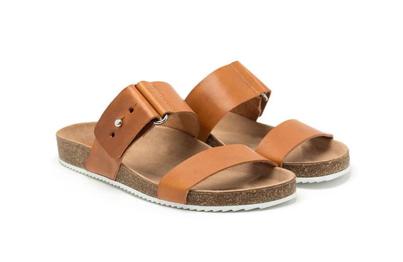 Sandale femme or