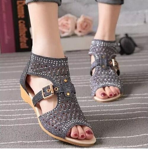 Sandale kickers femme pas cher