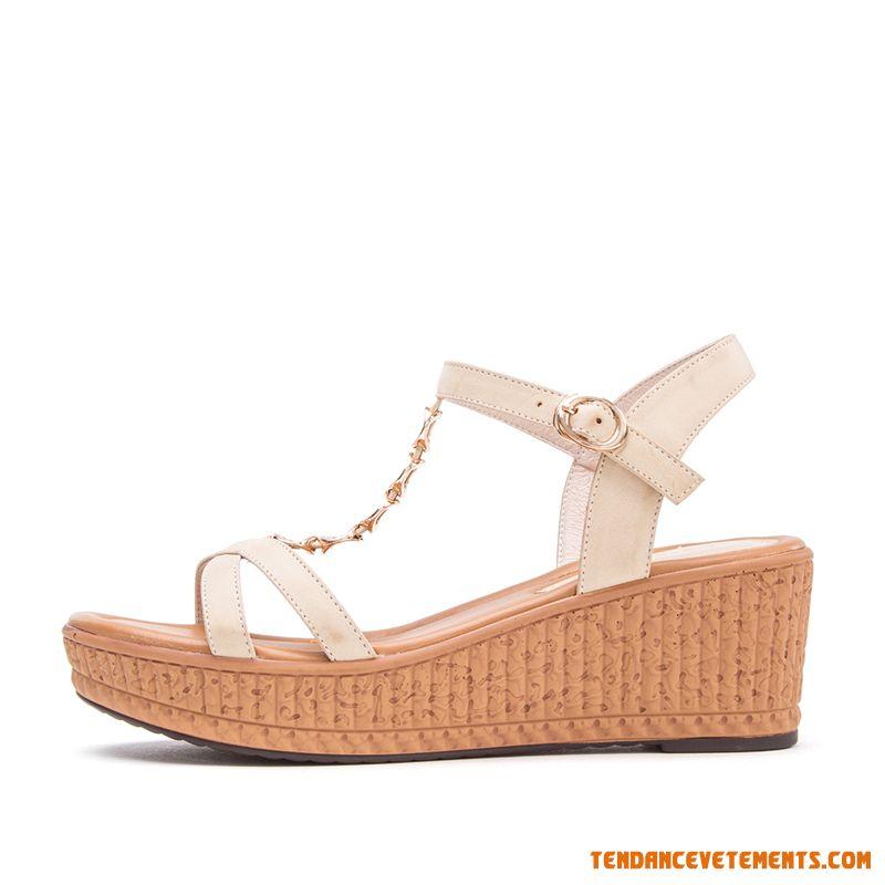 Sandale ete femme pas cher