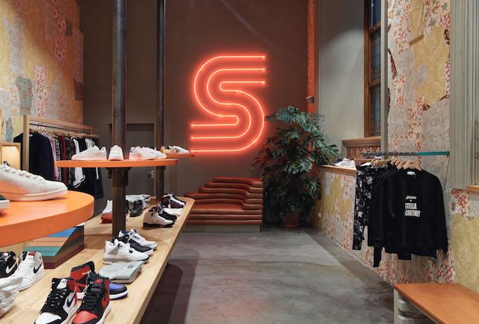 Sneakersnstuff omsättning