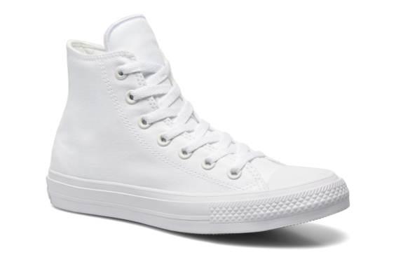 Solde Lescahiersdalter Converse Blanche Haute Chaussure Femme n0wOkP8