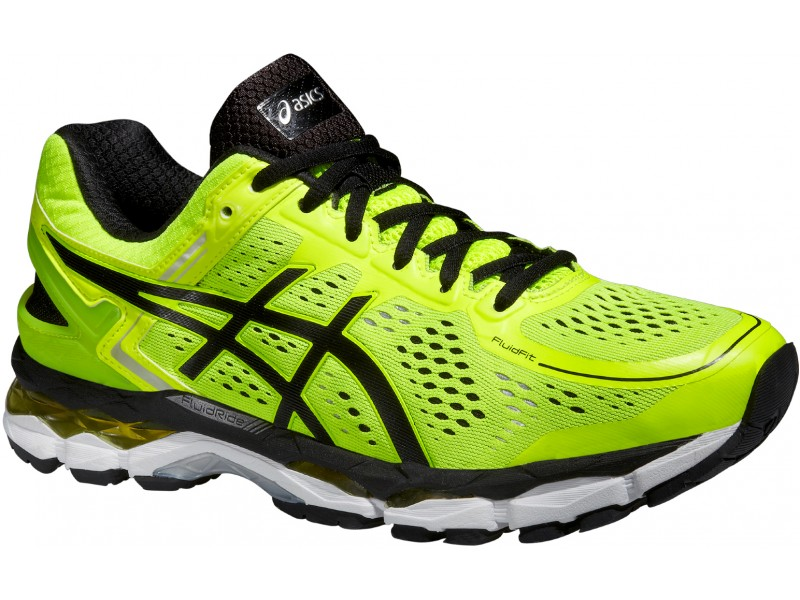 Chaussure running homme fluo