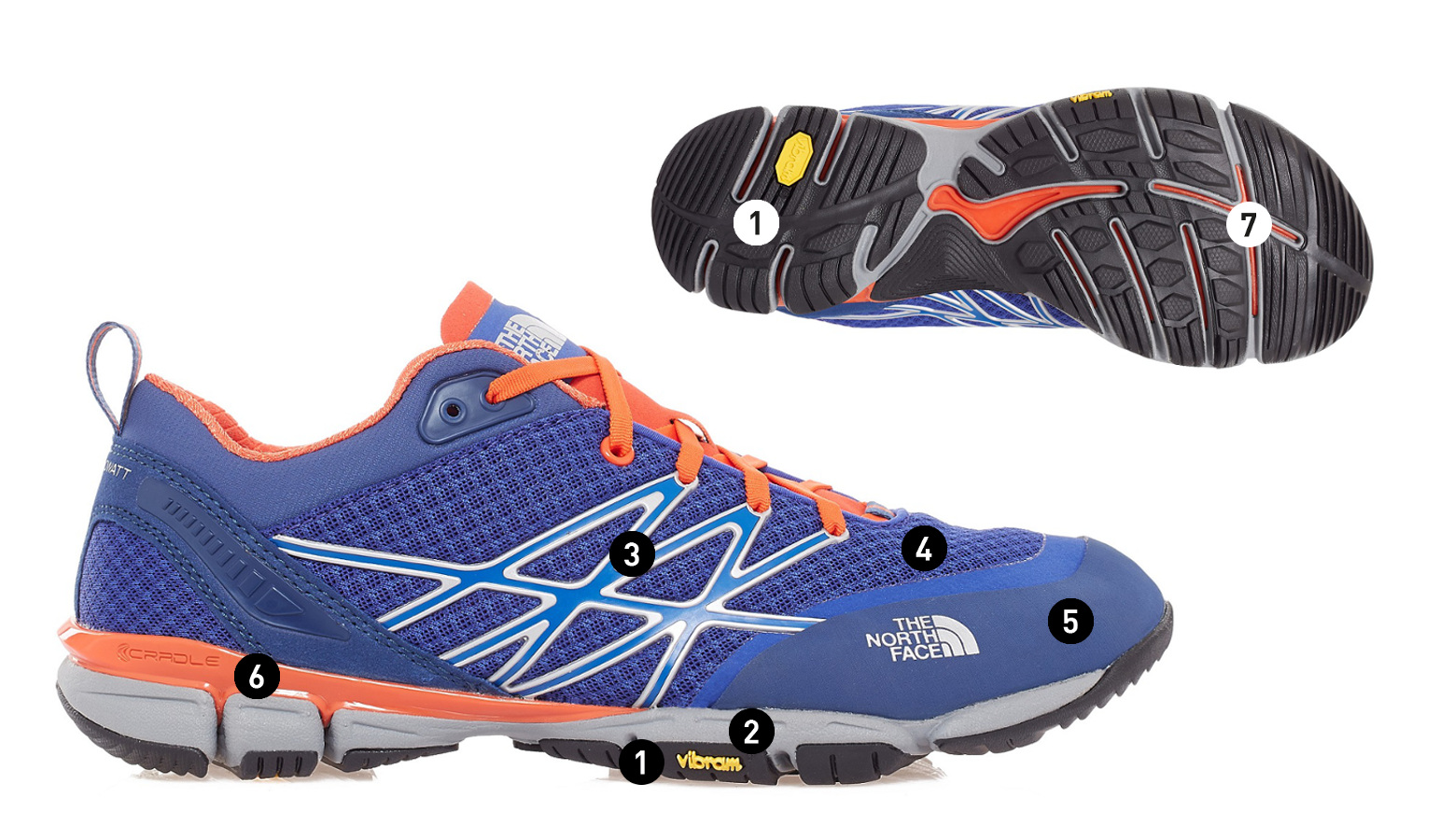 Chaussure running occasionnel