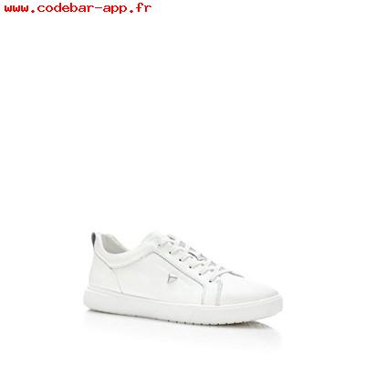 Sneakers femme blanche cuir