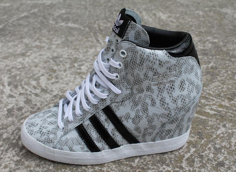 Chaussure compensée basket adidas