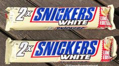 Snickers white glace