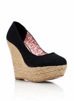 Image de chaussure a talon compense