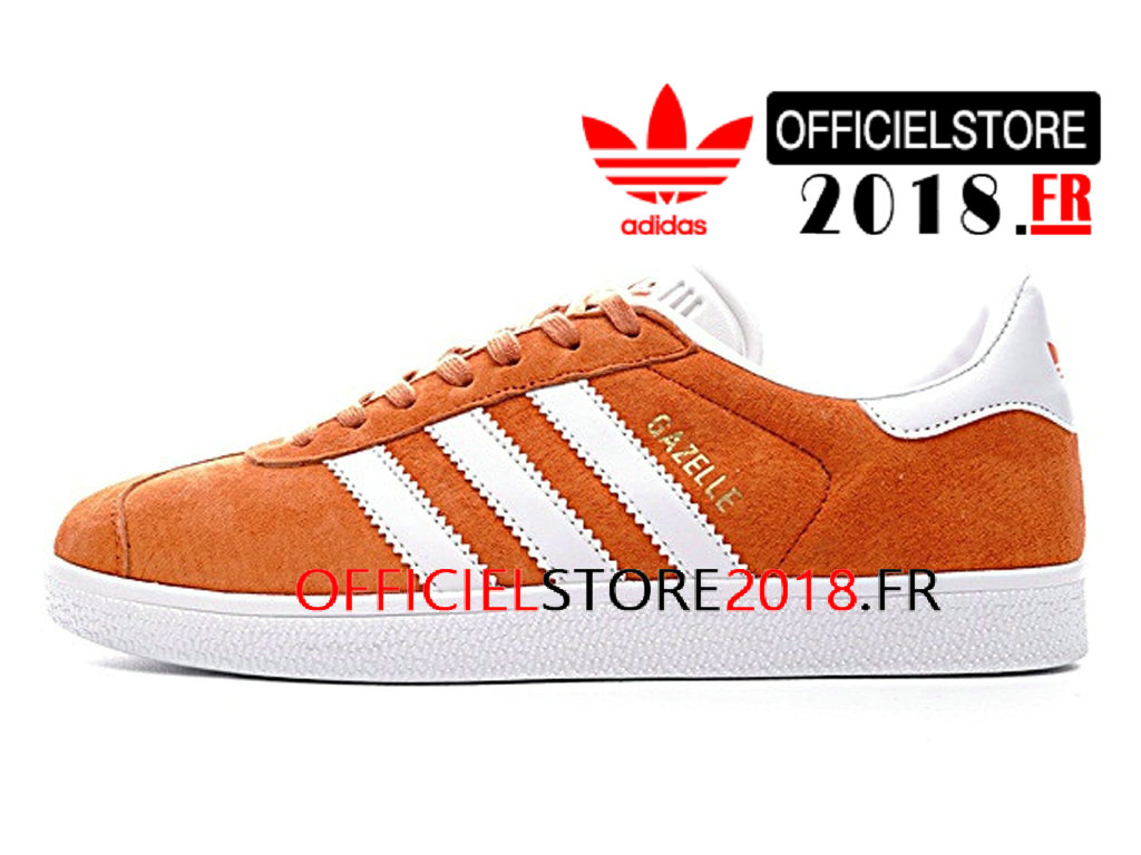 Chaussure running adidas orange