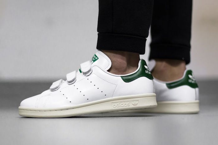 Stan smith femme original verte