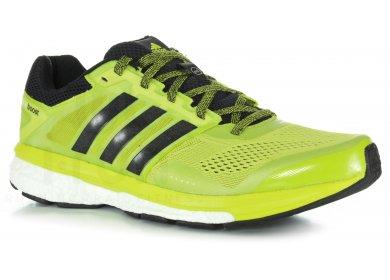 Chaussure running adidas jaune