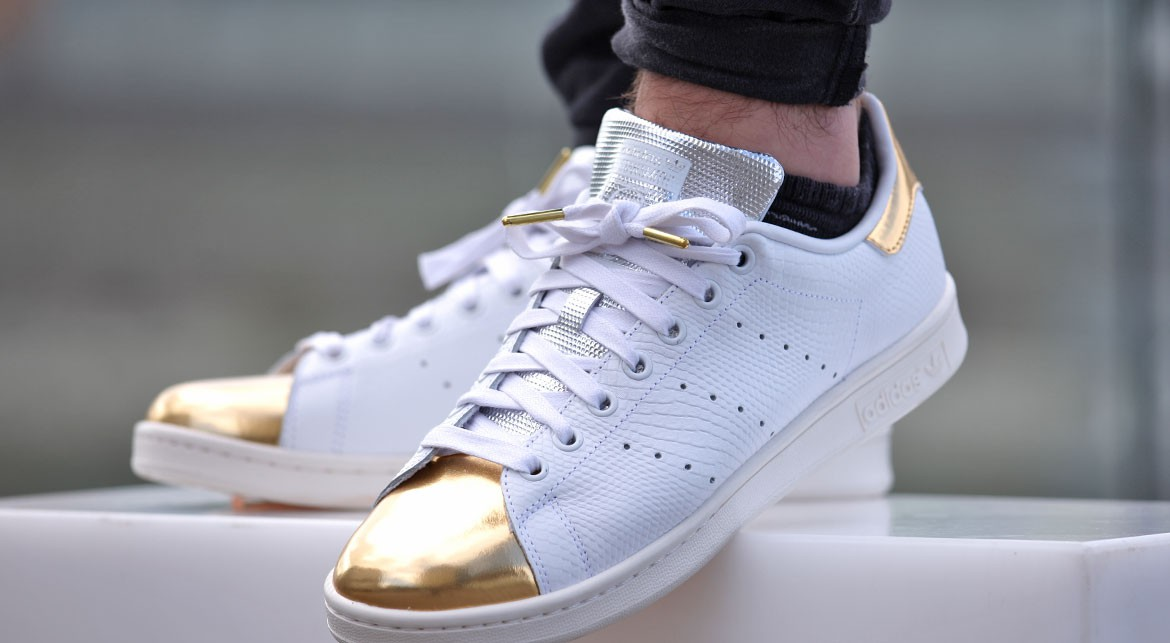 Stan smith original femme gold