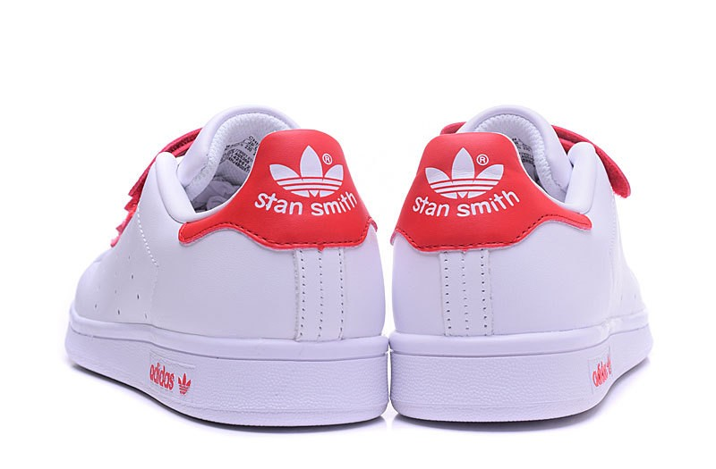 stan smith blanche et rouge