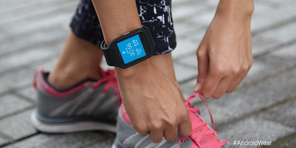 Nike running on android wear