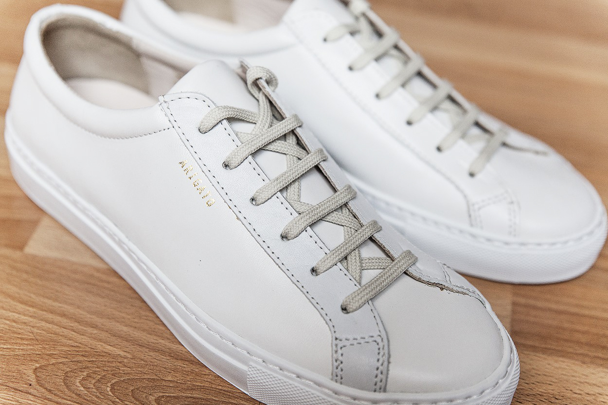 Sneakers homme blanche luxe