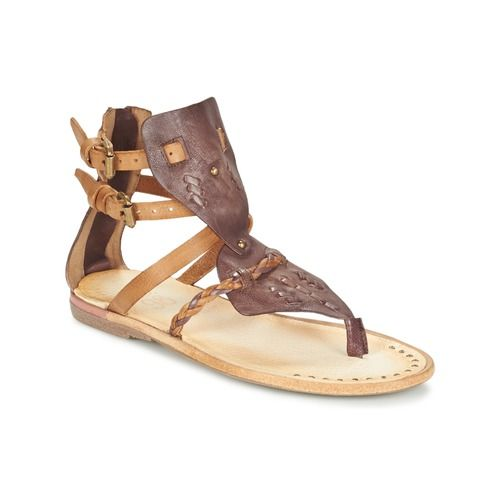 Sandale cuir femme pas cher