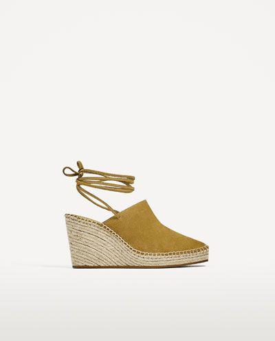 Chaussures compensées femme zara