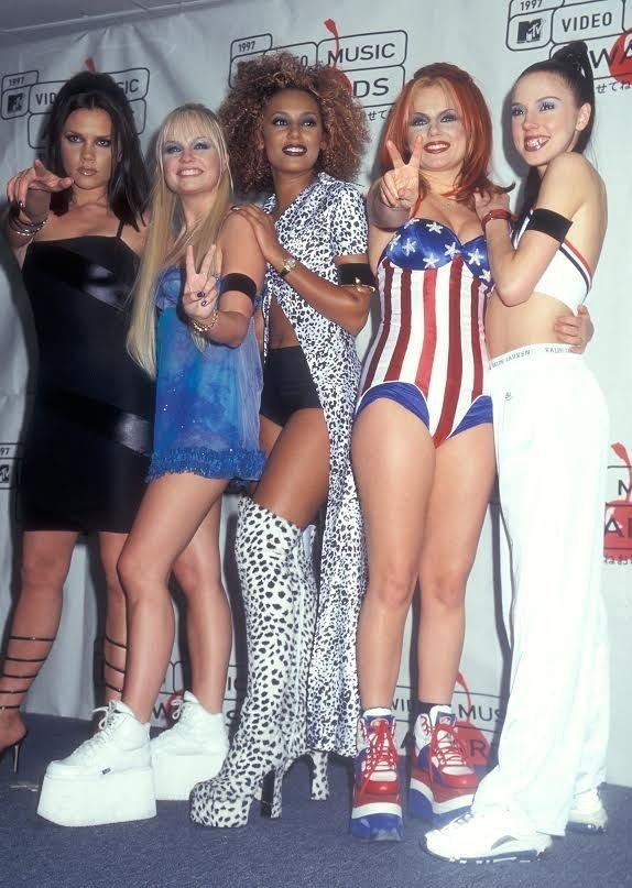 Chaussure compensée spice girl