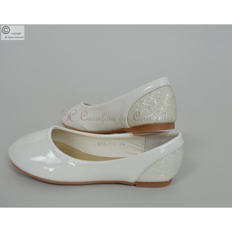 Ballerine blanche taille 19