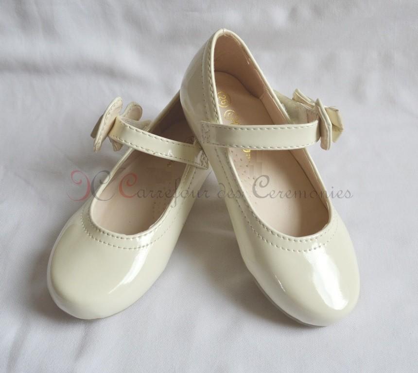 Ballerine blanche fille mariage