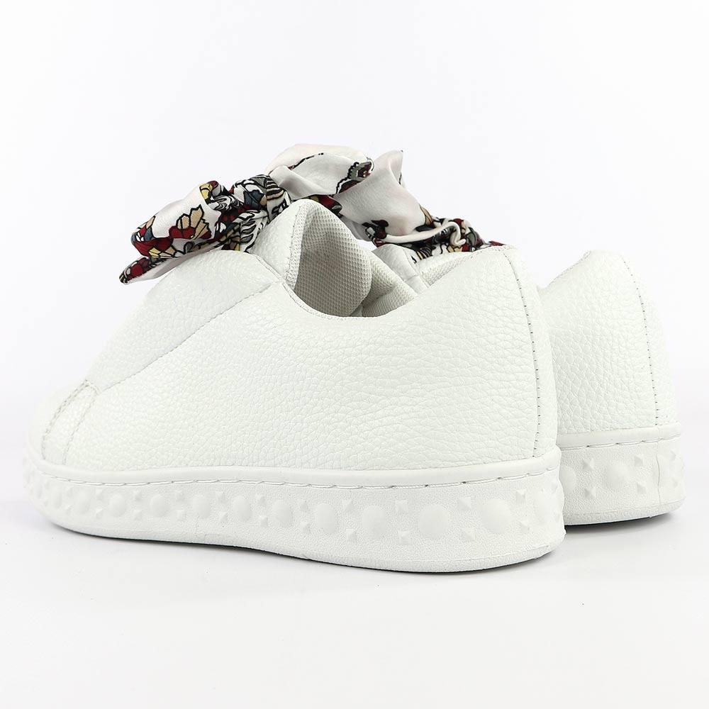 Sneakers femme ruban