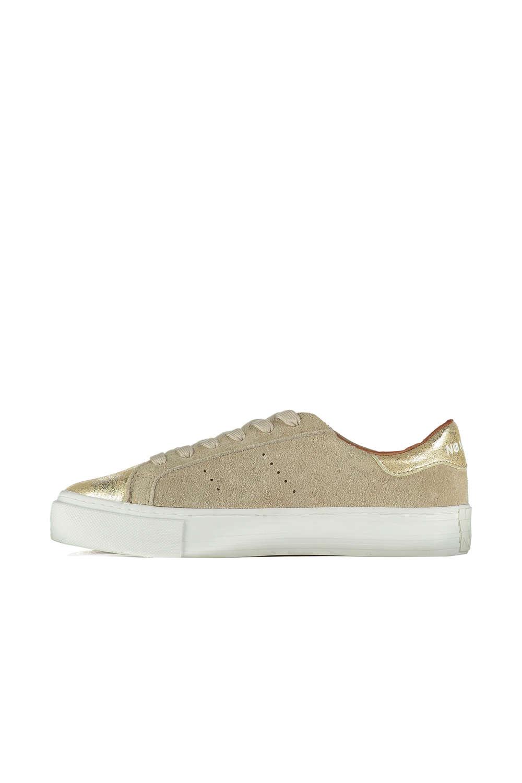 Sneakers femme doré