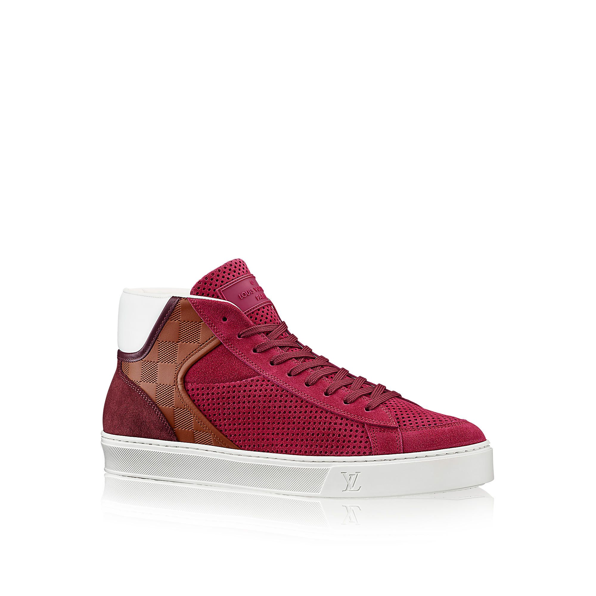 Louis vuitton fastball sneakers ebay