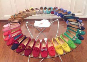Mocassin femme noeud - Chaussure - lescahiersdalter 9adbfc3b0de